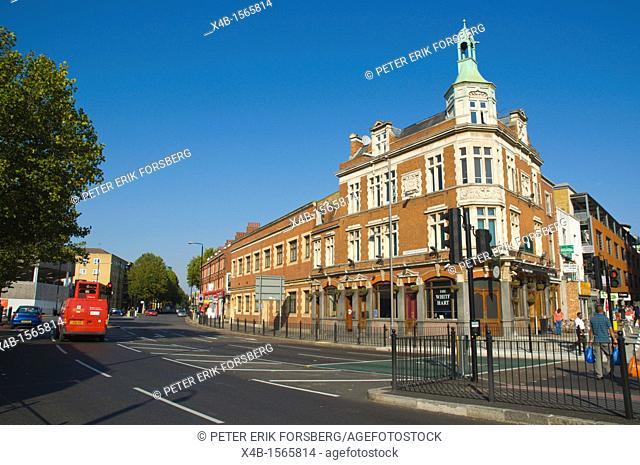 Cambridge Heath Road east London England UK Europe