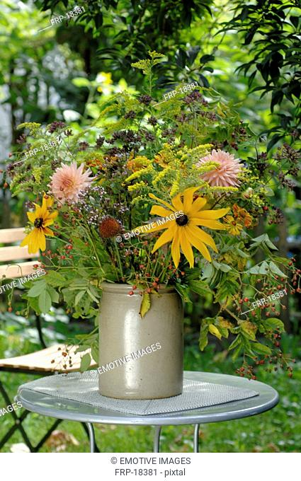 Bunch of summer flowers