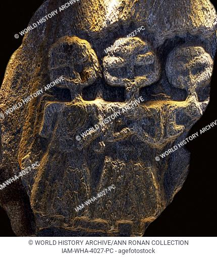 Relief work of the Three Mother Goddesses worshipped throughout the Celtic lands. Were known under a number of local names