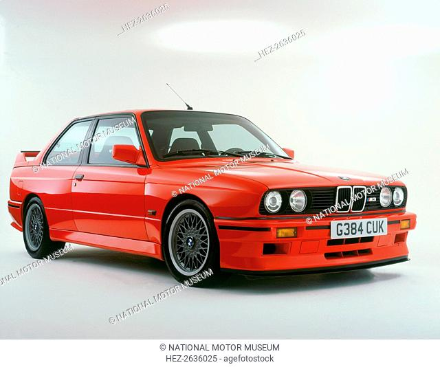 1989 BMW M3. Artist: Unknown