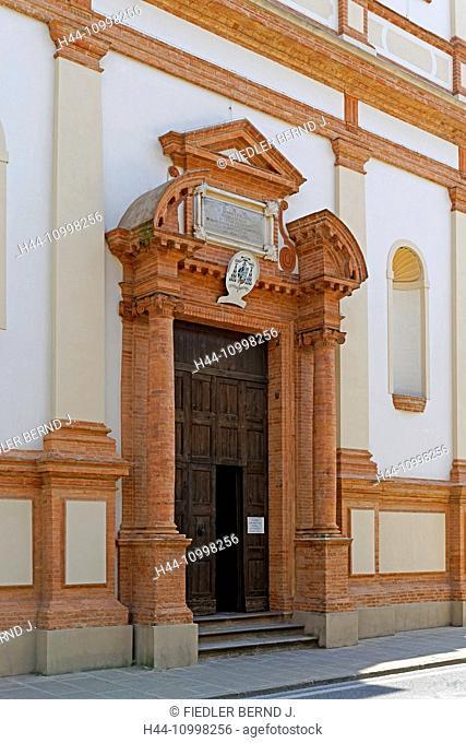 Church, San Pietro Montagnon, entrance