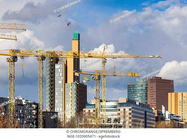 Architecture at Potsdamer Platz in Berlin