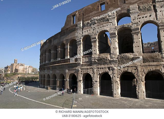 Italy, Rome. Colosseum, Amphitheater