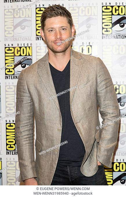 San Diego Comic Con 2017 - Supernatural - Photocall Featuring: Jensen Ackles Where: San Diego, California, United States When: 23 Jul 2017 Credit: Eugene...