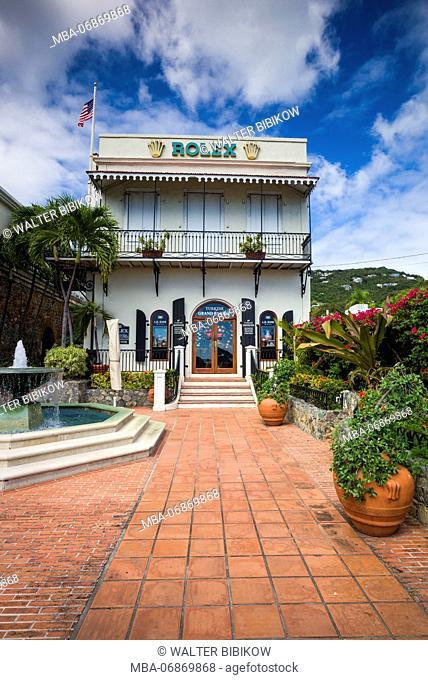U.S. Virgin Islands, St. Thomas, Charlotte Amalie, A.H. Riise Mall