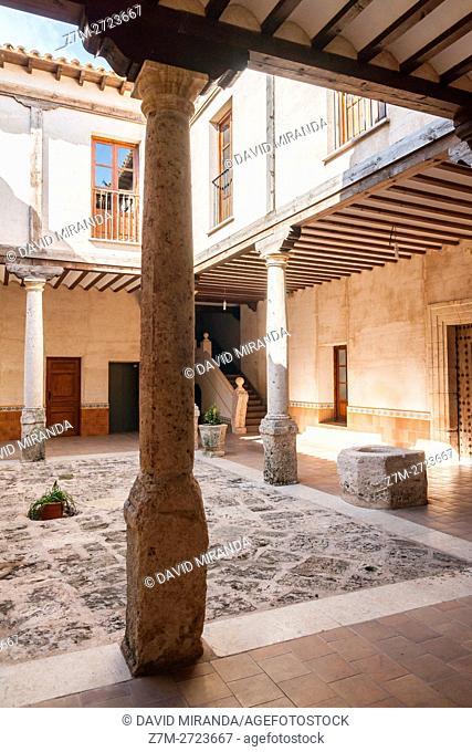 Ayuntamiento, City Hall, Villaescusa de Haro, Cuenca province, Castile la Mancha, Spain