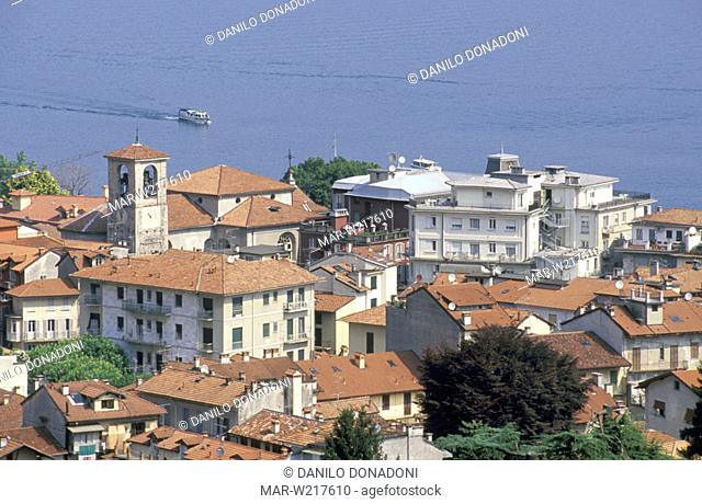 little town view, stresa, italy