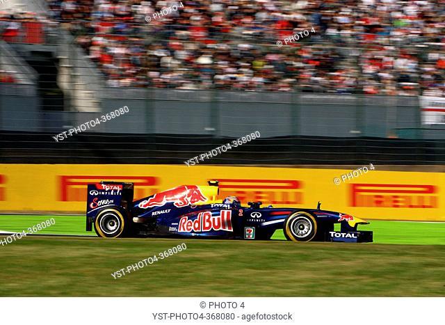 Friday Practice 2,Mark Webber AUS, Red Bull Racing, RB7, F1, Japanese Grand Prix, Suzuka, Japan