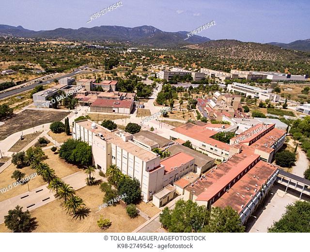 Universidad de las Islas Baleares, UIB , comunidad autónoma española de las Islas Baleares, término municipal de Palma, Majorca, Balearic Islands, Spain