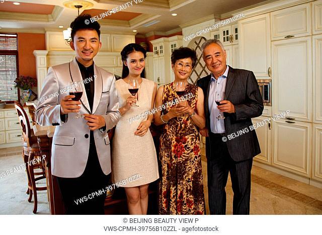 Luxury family party