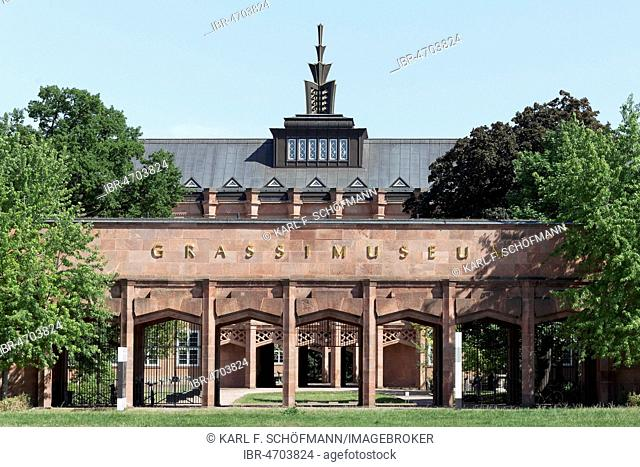 Grassi Museum of Applied Arts, Art Deco Building, Leipzig, Saxony, Germany