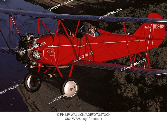 1929 Travel Air 4000 biplane
