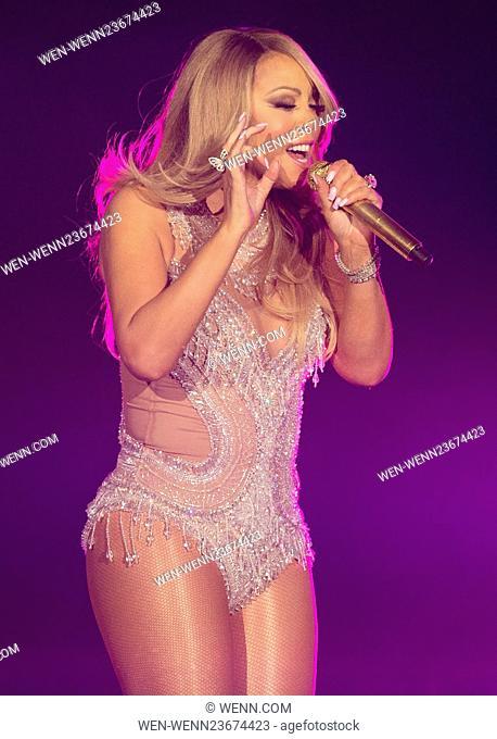 Mariah Carey performs live at London's O2 Arena Featuring: Mariah Carey Where: London, United Kingdom When: 23 Mar 2016 Credit: WENN.com