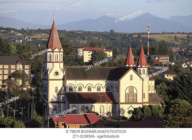 Chile, Lake District, Puerto Varas, Catholic Church,