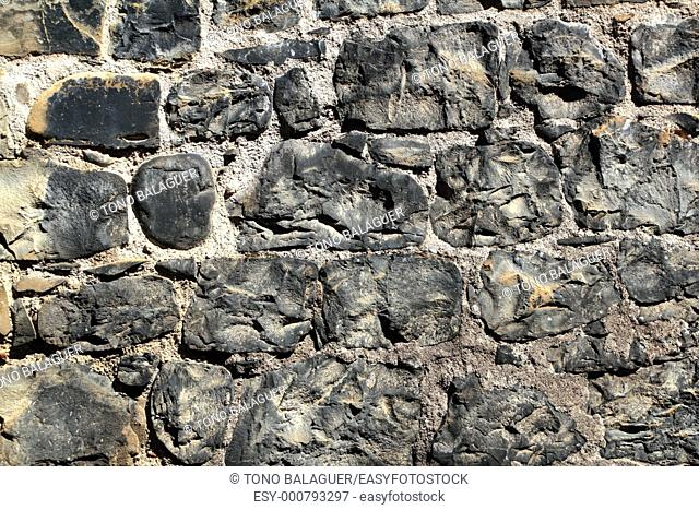 Aged masonry texture wall grunge background old architecture