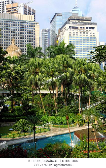 China, Hong Kong, Central district, Charter Garden,