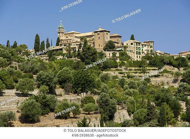 Valldemossa, sierra de tramuntana, Mallorca, Balearic Islands, Spain