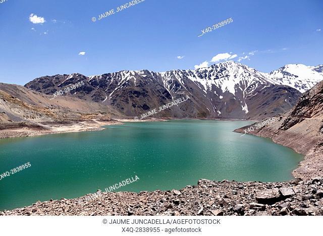 Lake of Yeso. Chile
