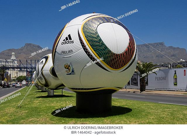 Jabulani, the official match ball of the 2010 World Cup, Cape Town, South Africa, Africa