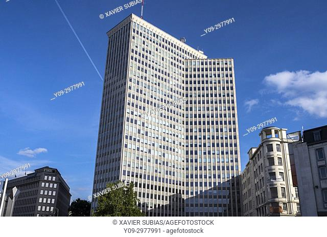 Bastion Tower, Brussels, Belgium
