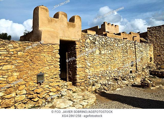 Ciutadella, poblado ibérico - Calafell - Baix Penedés - Tarragona - Cataluña - España - Europa