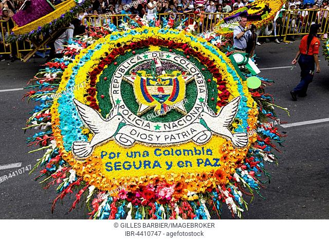 Silleta, Flower Composition, Flower Parade, Desfile de Silleteros, Flower Festival, Feria de las Flores, Medellín, Antioquia, Colombia