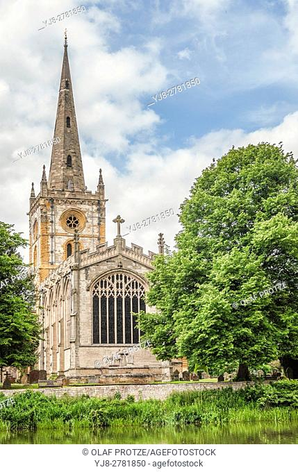 The Church of the Holy and Undivided Trinity, Stratford-upon-Avon is a parish church of the Church of England, often known as Shakespeare's Church