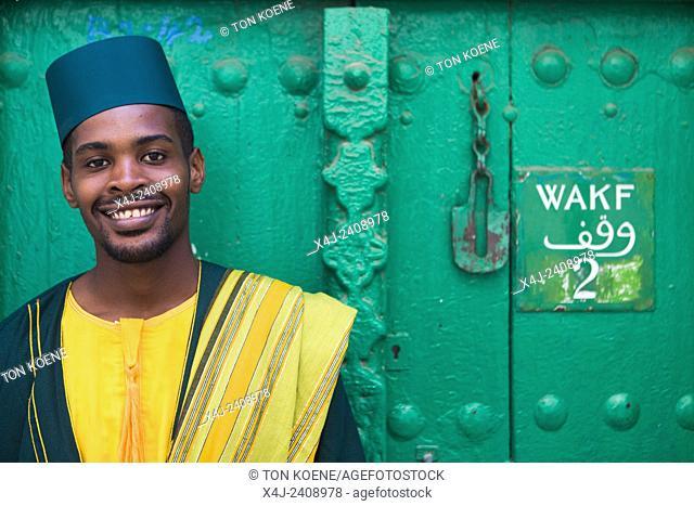 Hanu Mohammed, man from Zanzibar