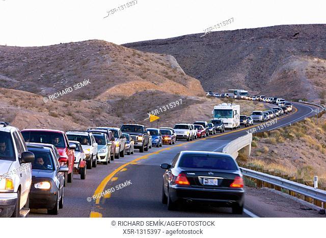 traffic jam, Arizona, USA