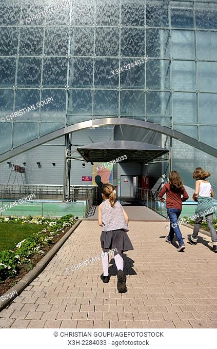 Futuroscope theme park, around Poitiers, Vienne department, Poitou-Charentes region, France, Europe