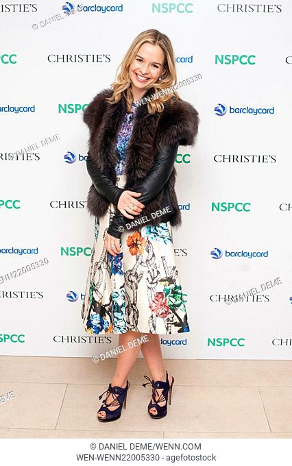 Paddington Trail auction held at Christie's in London - Arrivals Featuring: Marissa Hermer Where: London, United Kingdom When: 10 Dec 2014 Credit: Daniel...