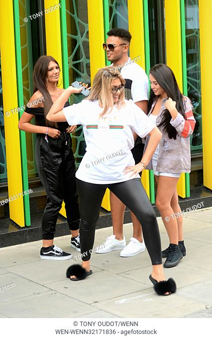 'Geordie Shore: Land of Hope and Geordie' season 15 - Photocall Featuring: Chloe Ferry Where: London, United Kingdom When: 29 Aug 2017 Credit: Tony Oudot/WENN