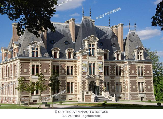 Saint Pierre de Varengeville castle, Art exhibition hall, 76, Normandy, France
