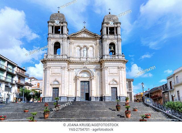 Chiesa Madre S Maria della Provvidenza, Zafferana Etnea, Sicily, Italy