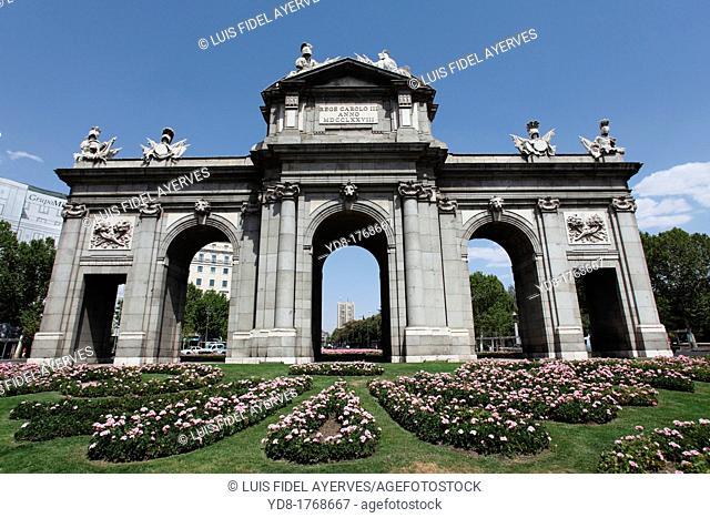 Puerta de Alcala, Madrid, Spain, Europe