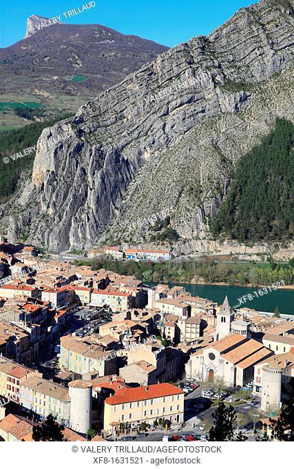 Sisteron, Alpes-de-Haute-Provence, Provence-Alpes-Côte d'Azur, France