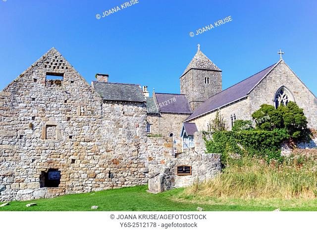 Penmon Priory, Isle of Anglesey, Wales, United Kingdom