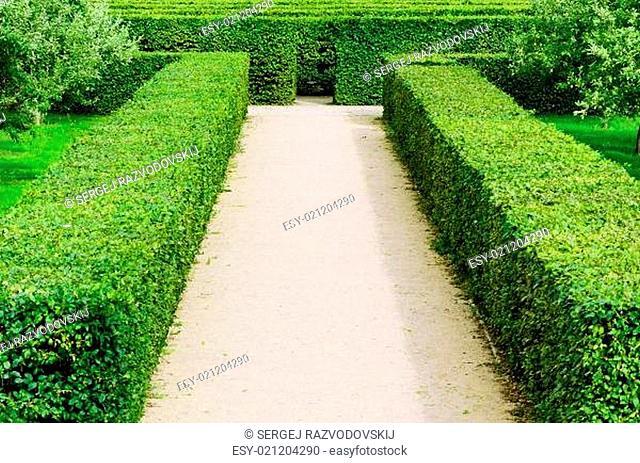 Troja Labyrinth