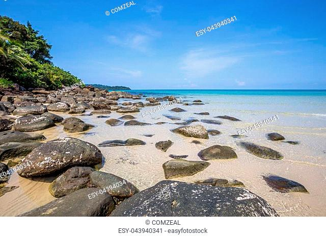 Beach and tropical sea at Koh kood island, Trat province, Thailand