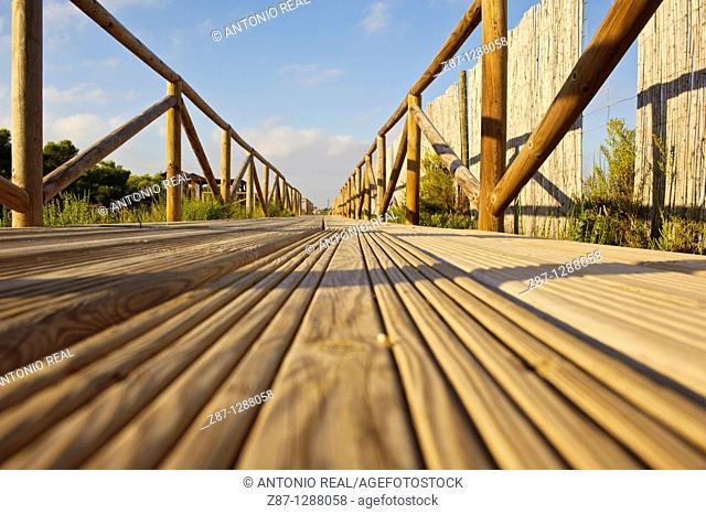 Parque Natural Salinas de Santa Pola, Alicante, Spain