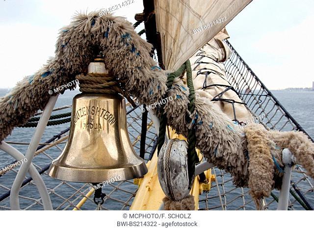 ship's bell, Germany, Schleswig-Holstein, Kiel