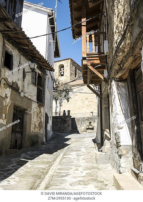 Popular architecture. Valverde de la Vera. Cáceres. Extremadura. Spain