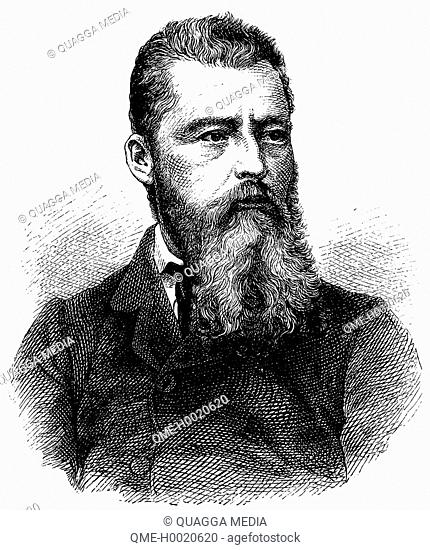 Ludwig Feuerbach (1804 - 1872), German philosopher and anthropologist