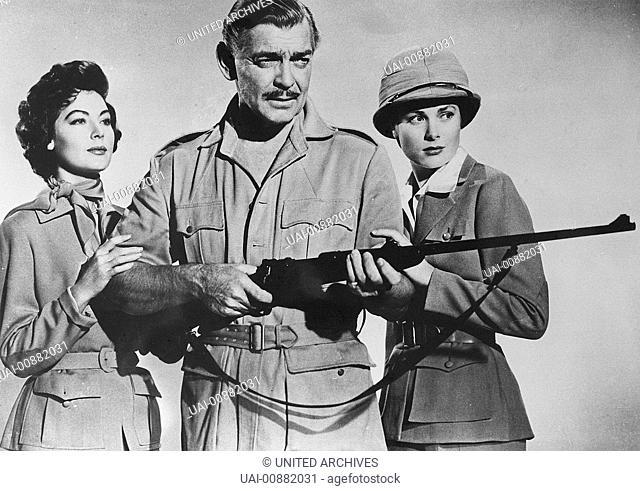 MOGAMBO USA 1953 - John Ford Im afrikanischen Urwald verliebt sich ein erfolgreicher Tierfänger in die Frau eines Forschers