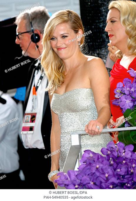 US actress Reese Witherspoon arrives for the 72nd Annual Golden Globe Awards at the Beverly Hilton Hotel, in Beverly Hills, California, USA, 11 January 2015