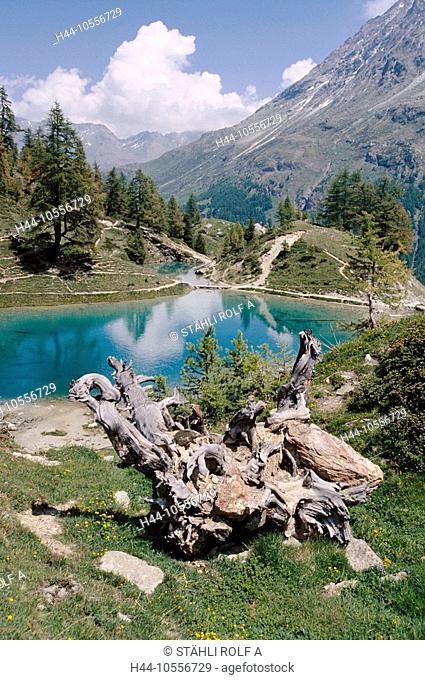 10556729, lake, sea, Alps, alp, lake, Lac blue, above Arolla, Valais, Switzerland, Europe, scenery