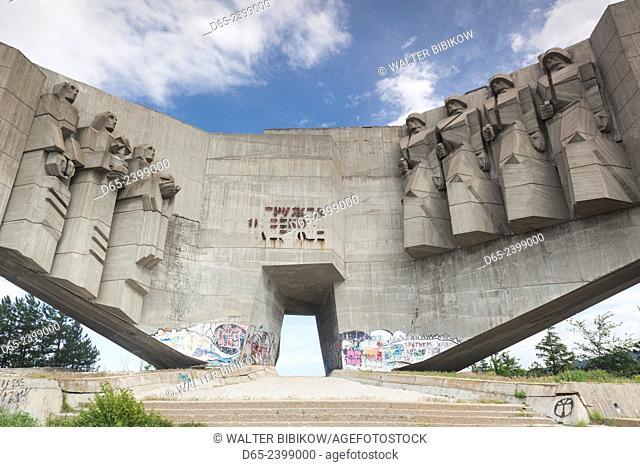 Bulgaria, Black Sea Coast, Varna, Soviet-era, Russian-Bulgarian Friendship Monument