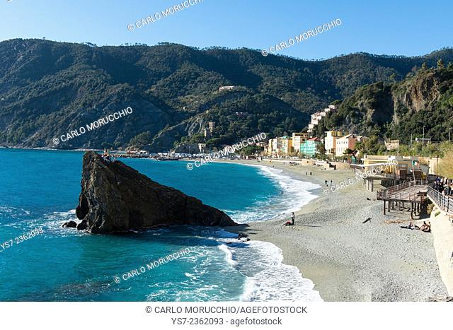 Monterosso al mare, Cinque Terre, Liguria, Italy, Europe