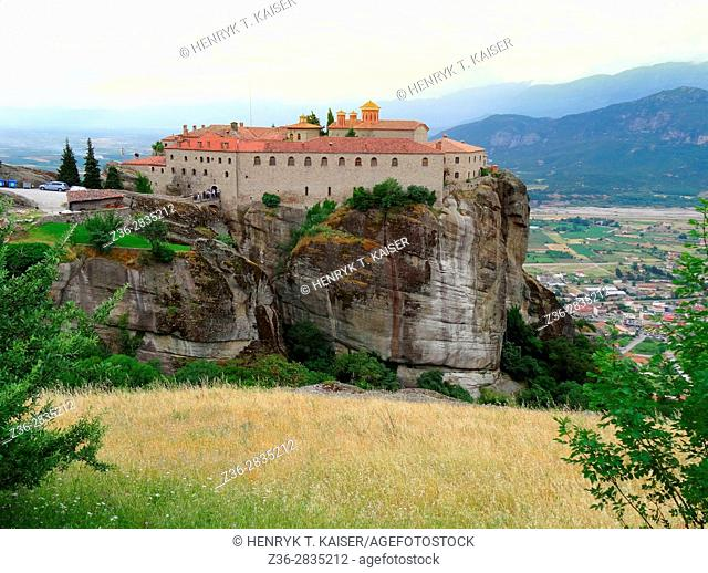 St Stephens Monastery (moni Aghiu Stefanu), Greece, Meteora