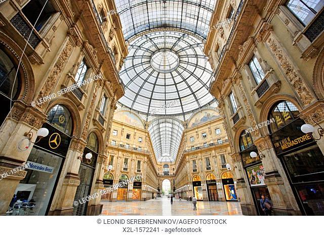 Vittorio Emanuele II Gallery  Milan, Italy